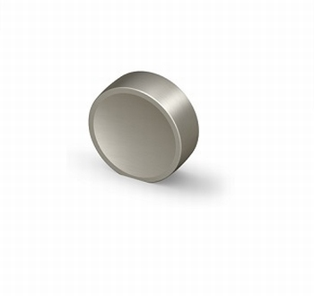 Knop Novoli - Edelstaal finish geborsteld - Diameter 28 mm