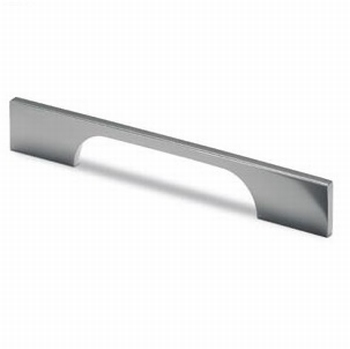Greep Torino - Aluminium chroom glans - L 296 mm<br />Per stuk