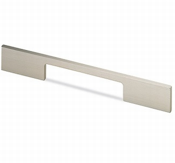 Greep Torino - aluminium edelstaal finish - L 296mm<br />Per stuk