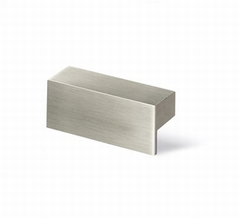 Greep Trani - edelstaal finish geborsteld - lengte 52 mm